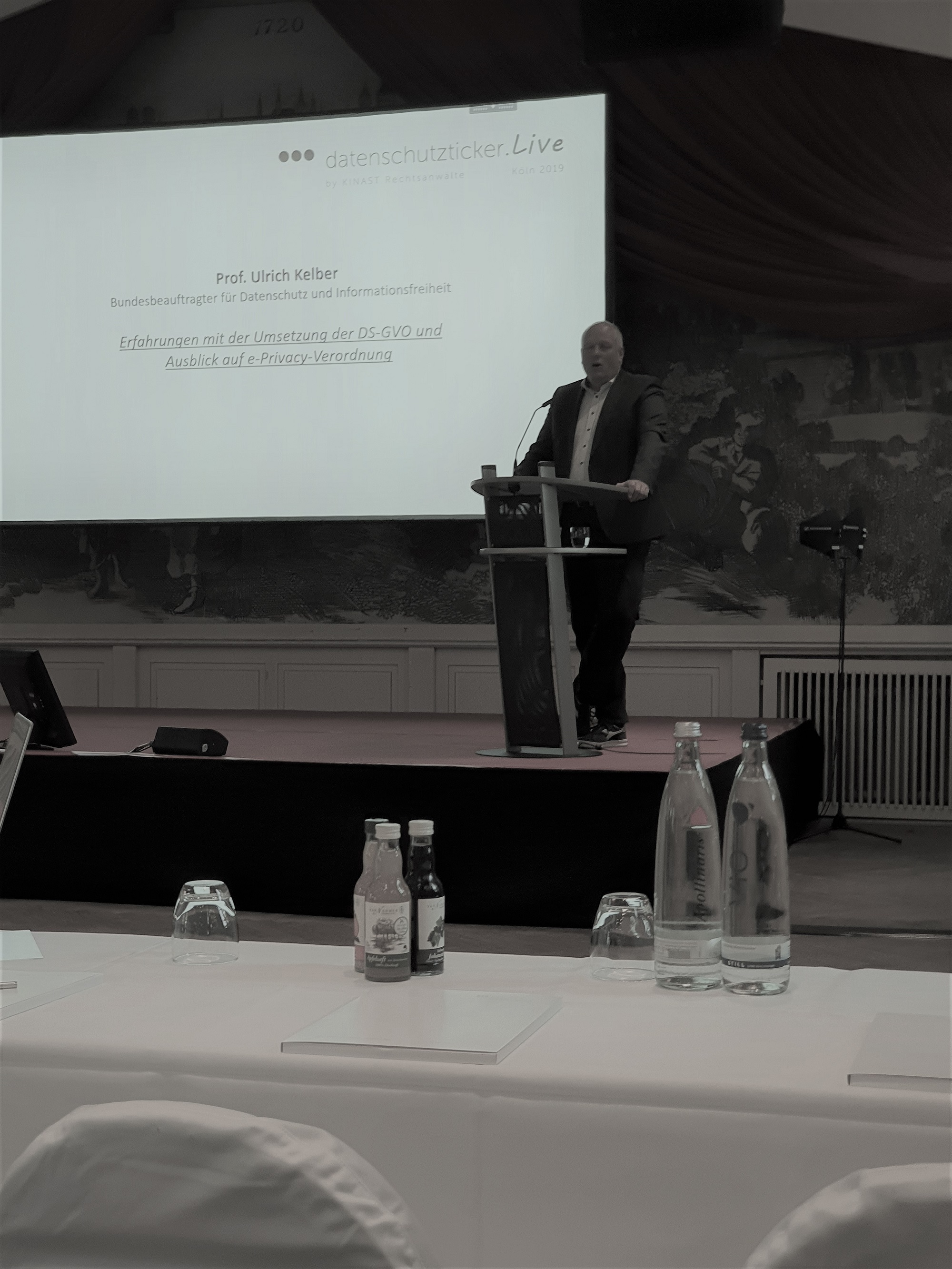 Vorstandsmitglied Mathias Heinicke unterwegs in Köln