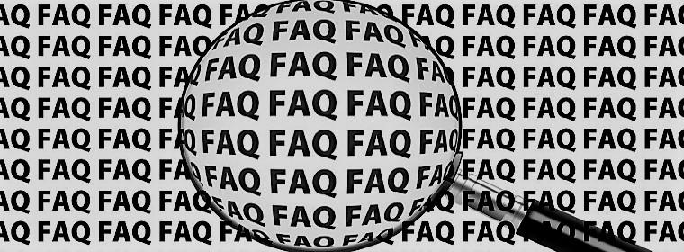 Unsere FAQ, nach Kategorien geordnet