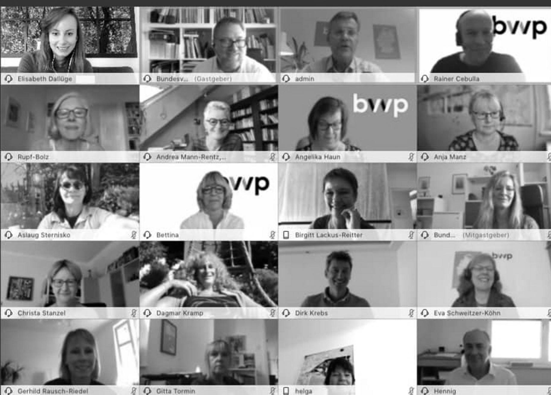 bvvp Digitalisierung und unzulängliche Bezahlung für PiA