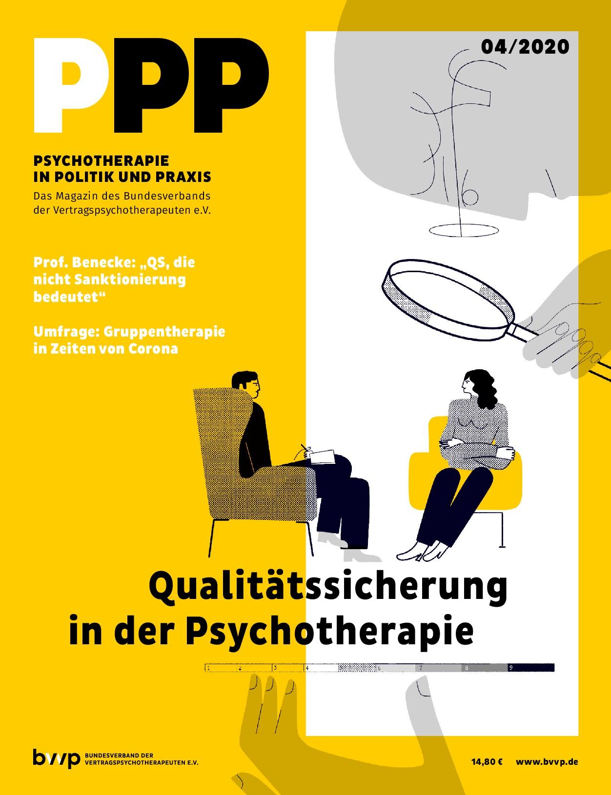 Psychotherapie in Politik und Praxis 04/2020