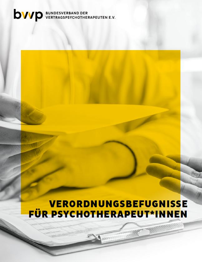 Versorgungsbefugnisse für Psychotherapeut*innen